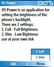 Smartphone OldSap's OS Power