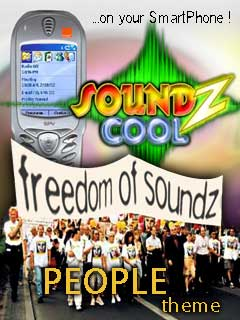 Smartphone PEOPLE-Themepack for Soundz Cool 1.0