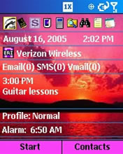 Smartphone Alarm Info today screen plugin