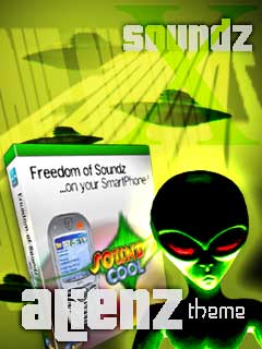 Smartphone Alienz-Themepack for Soundz Cool 1.0