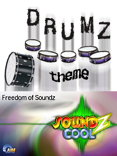Smartphone Drumz Sound Themepack for Soundz Cool 1.