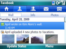 Smartphone Facebook freeware