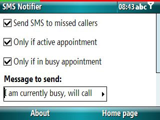 Smartphone SMS Notifier v1.3