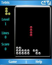 Smartphone Tetris for smartphone freeware