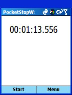 Smartphone PocketStopWatch freeware